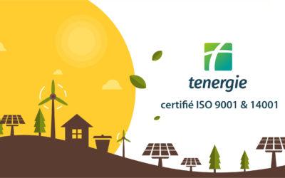 Certifications ISO 9001 et 14001