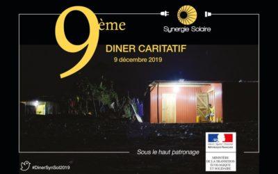 9ème dîner caritatif de Synergie Solaire